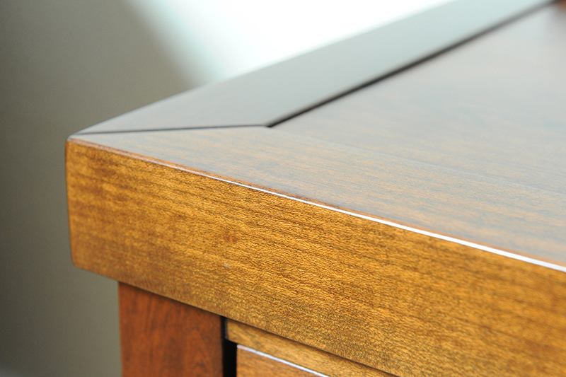 Uniek audio meubel - detail afwerking