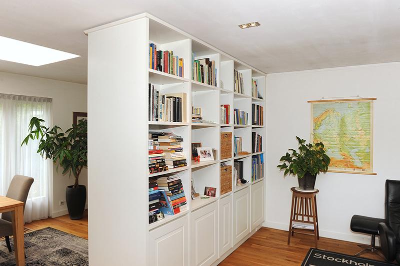 Room divider naar eigen ontwerp - woonkamer zijde