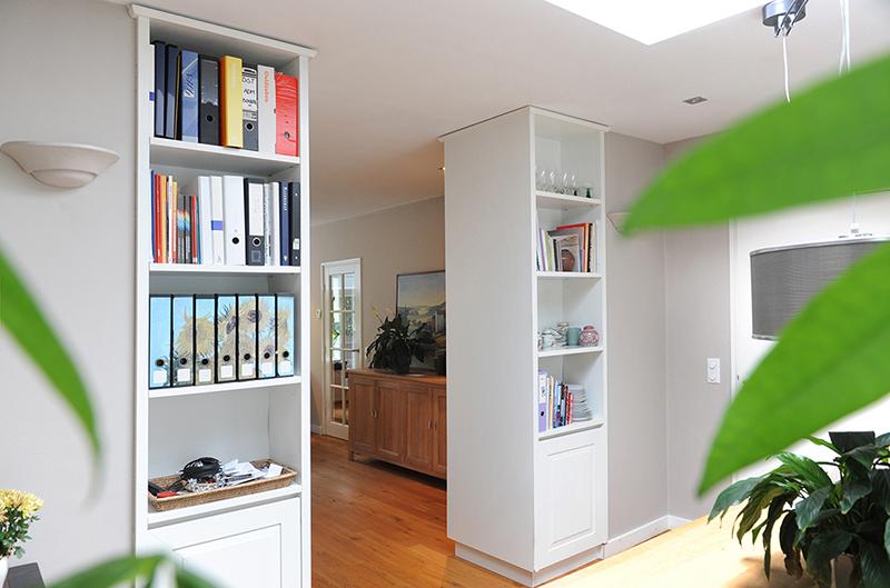 Room divider naar eigen ontwerp - eetkamer zijde