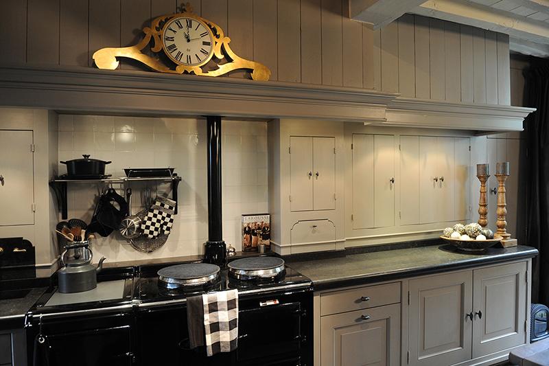 Landelijke keuken op maat van duurzaam eikenhout door meubelmaker ...